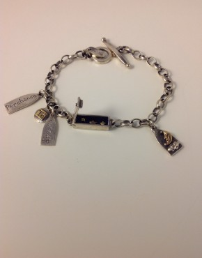 Perchance to Dream Silver Charm Bracelet