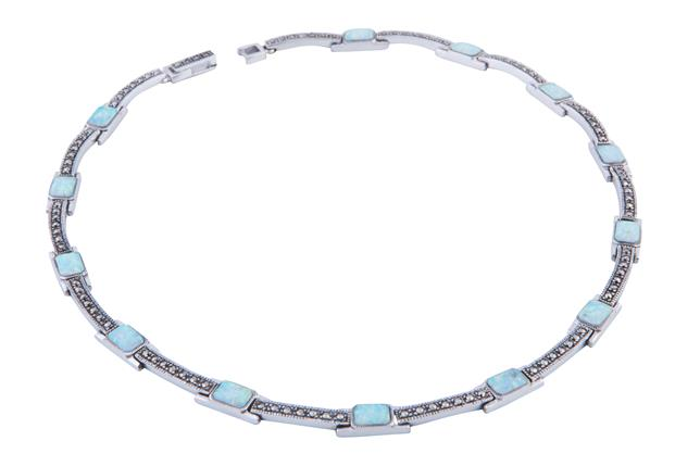 026ac093a Marcasite and Opalite Necklace - Adorn Jewellers of Chesterfield