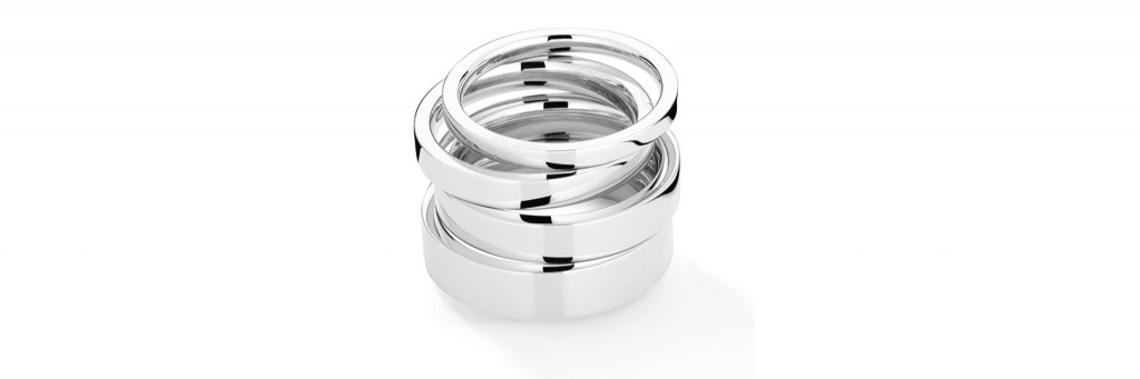 Beautiful White Gold Wedding Rings