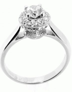 Evangeline Diamond Ring