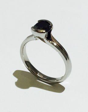 Noir Engagement Ring