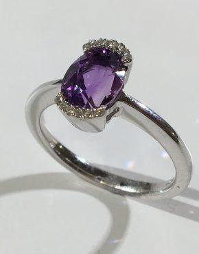 Amethyst Ring - violet