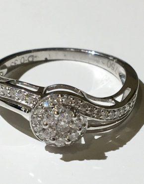 Poseidon Diamond Ring