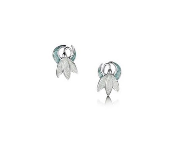 f2c781786 Snowdrop Stud Earrings Earrings, Sheila Fleet Jewellery, Silver Earrings