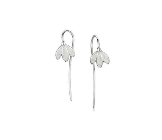 ed92e2599 Snowdrop Earrings Earrings, Sheila Fleet Jewellery, Silver Earrings