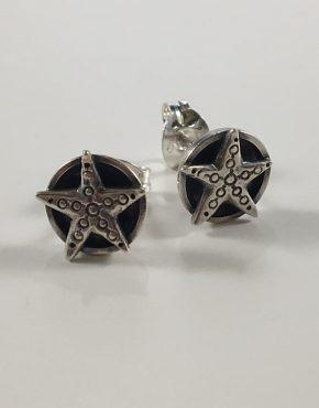Starfish round studs