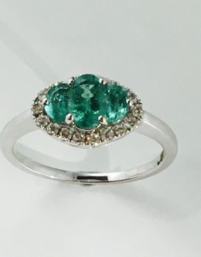 Maybelle Emerald Ring