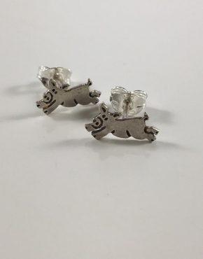 Pig earrings