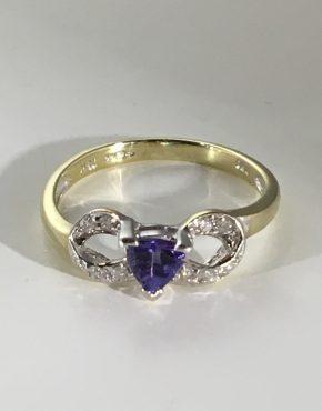 Georgina Infinity Bow Ring
