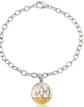 Round beach family bracelet
