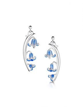 Statement 3 bell Bluebell Earrings