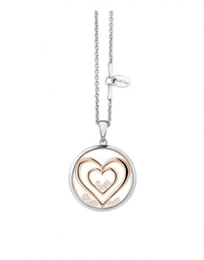 ASTRA Double Heart Pendant